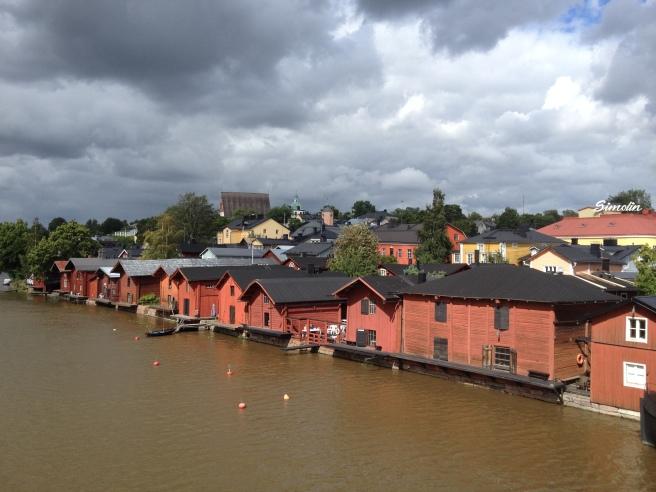Porvoo boat houses
