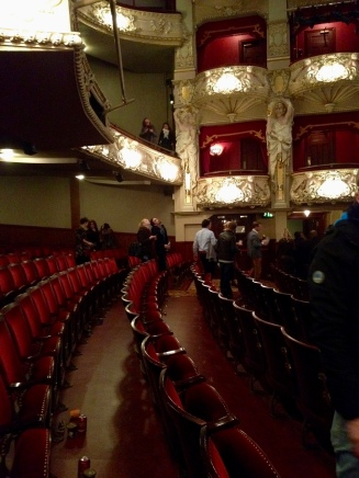Traditional theatre, although not Gielgud