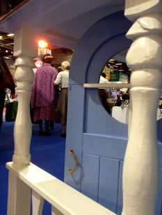 Moomin house and characters