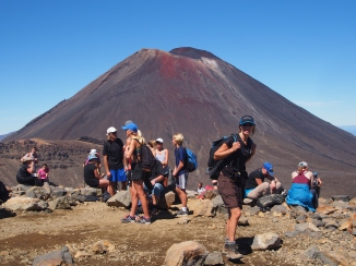 Mount Ngauruhoe is familiar from the Lord of the Rings