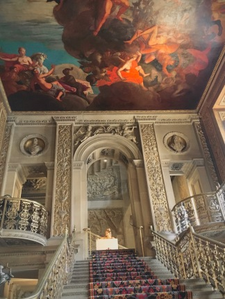 Chatsworth House is well know for its Painted Hall