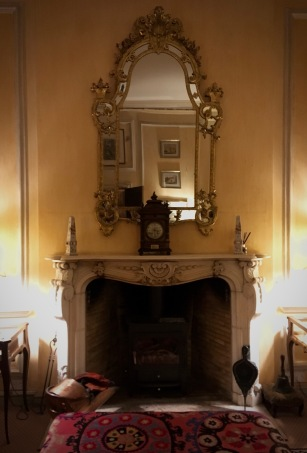 The French Room even smells old and nobel