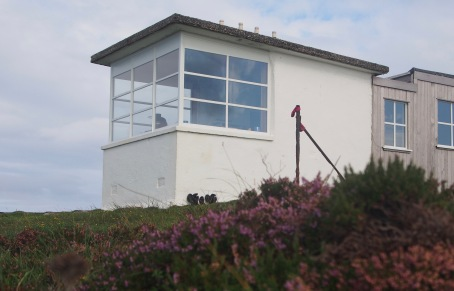 The bothy used to be coastguard watch station