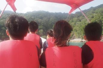 We visited 4 snorkelling spots