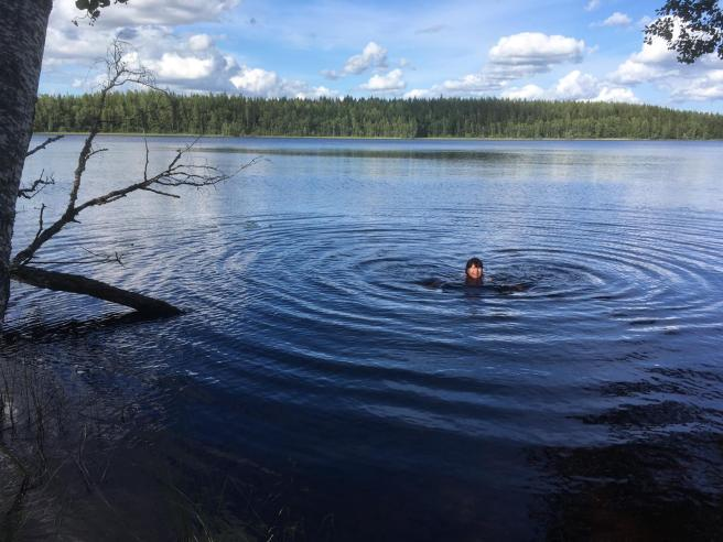 Nearherewayaway swimming challenge 4
