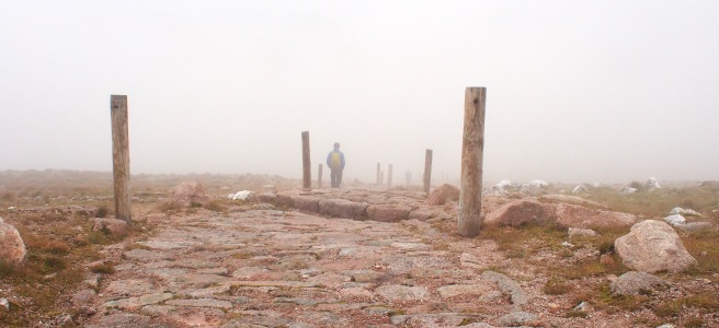 Cairngorms in a cloud