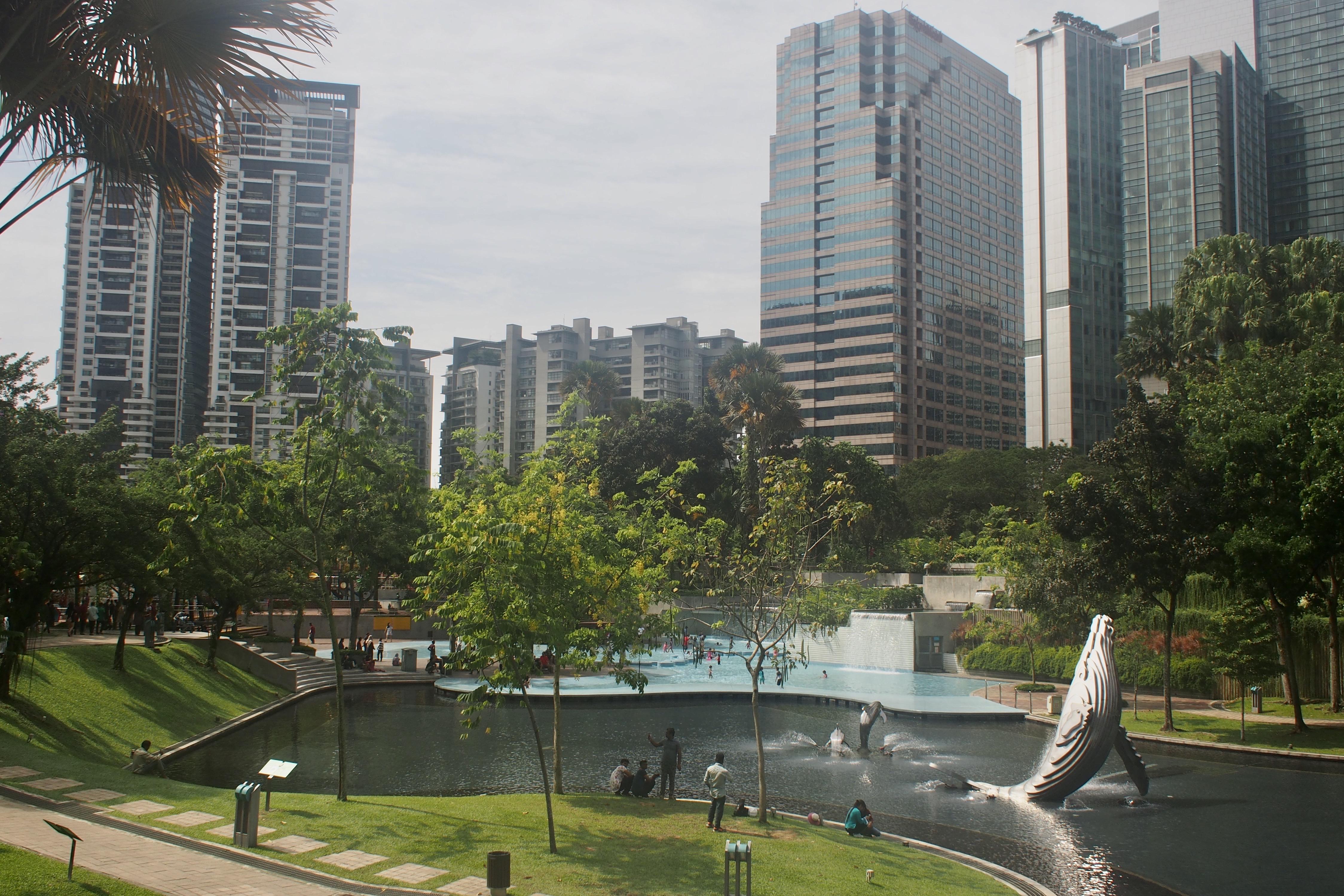 KCC Park in KL