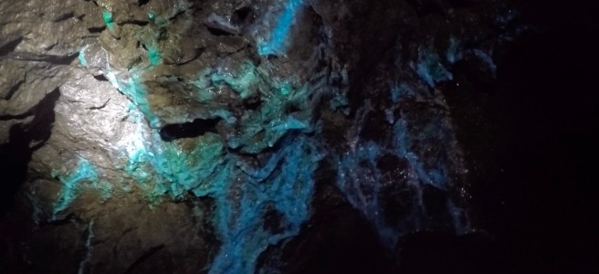 copper mine, blue supergene formations