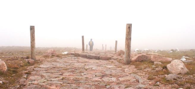Mist on Cairngorms