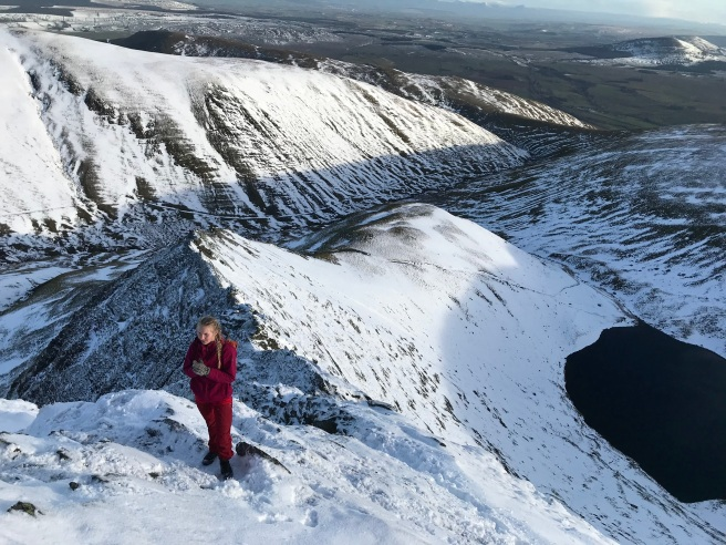 Sharp Edge in the Lake District
