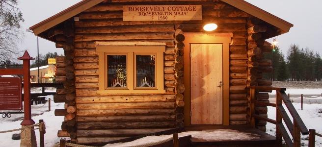 Roosevelt Cottage, Rooseveltin Maja